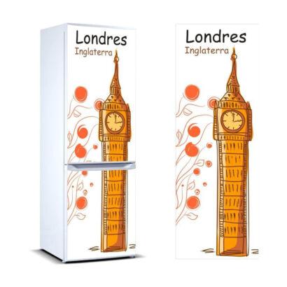 Vinilo frigorífico Londres