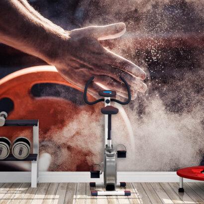 Fotomural Vinilo Hall Gym