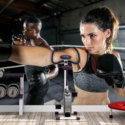 Fotomural Gimnasio Clase Cardio Punch Boxeo