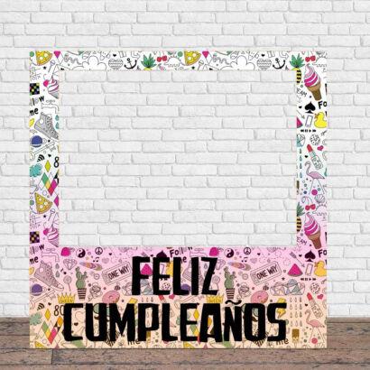 Photocall Fiesta Feliz Cumpleaños