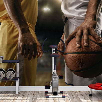 Fotomural Deportes Baloncesto Jugadores