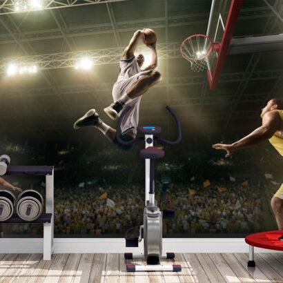Fotomural Baloncesto Mate a Canasta