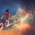 Fotomural Bicicleta en el Cielo