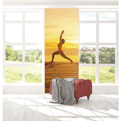 Papel Pintado Yoga al Atardecer