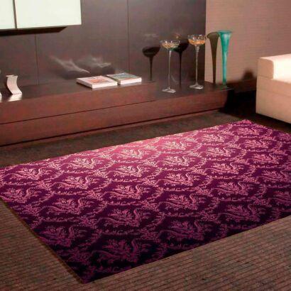 Alfombra PVC Flor de Lirio Púrpura
