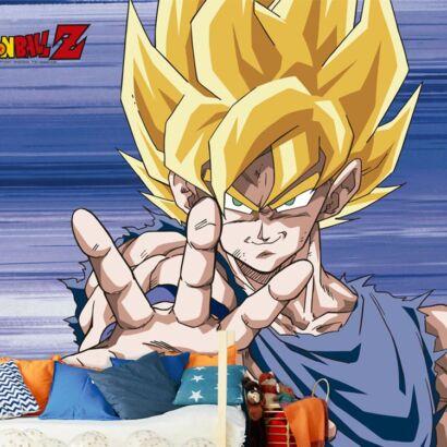 Fotomural Vinilo de Pared Dragon Ball Z Super Saiyan