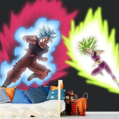 Fotomural Dragon Ball Goku vs Kale