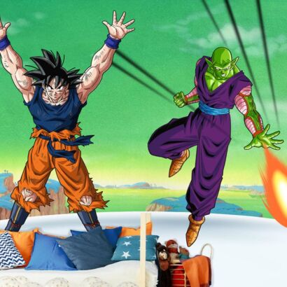 Fotomural Dragon Ball Z Goku y Piccolo