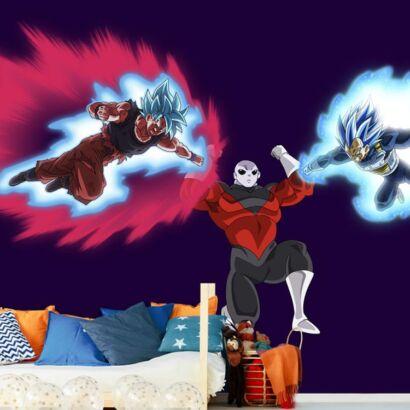 Fotomural Dragon Ball Goku y Vegeta vs Jiren