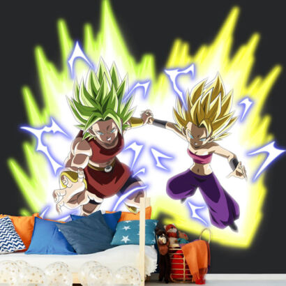 Fotomural Dragon Ball Kefla y Kale