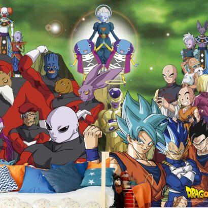 Fotomural Dragon Ball Super Personajes