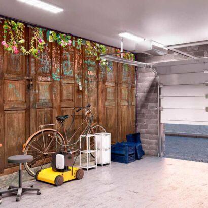 Papel Pintado Bicicleta Vintage