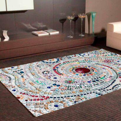 Alfombra PVC Mosaico Romano Espiral