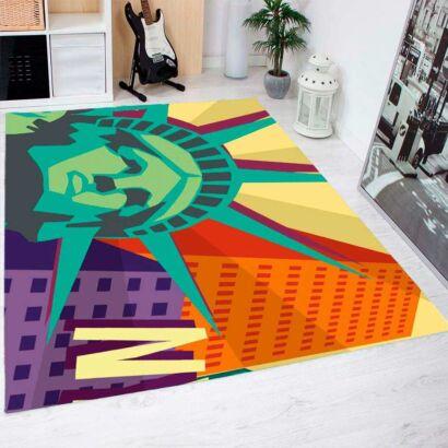 Alfombra PVC Estatua Libertad NYC