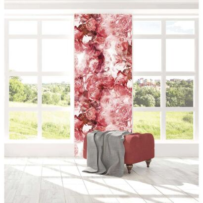 Cenefa Vertical Rosas Estampadas
