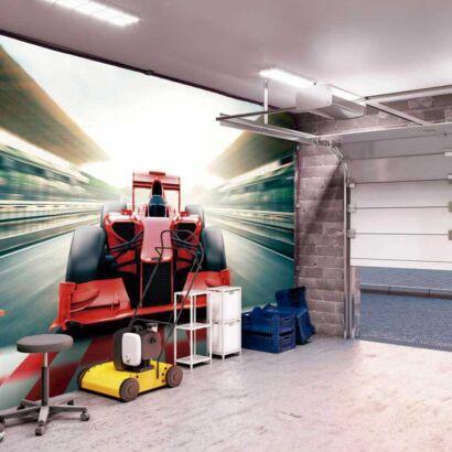 Papel Pintado Fórmula 1 Rojo