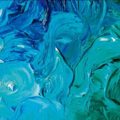 Alfombra PVC Pintura al Oleo Diseño