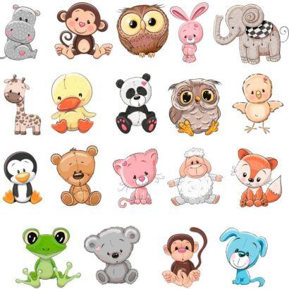 Pack Figuras Vinilos Infantiles Animales
