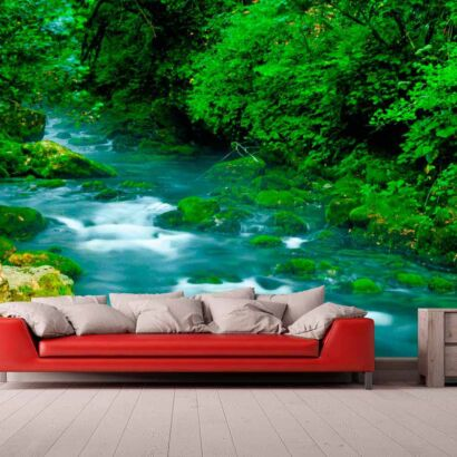 Papel Pintado Río Rápido