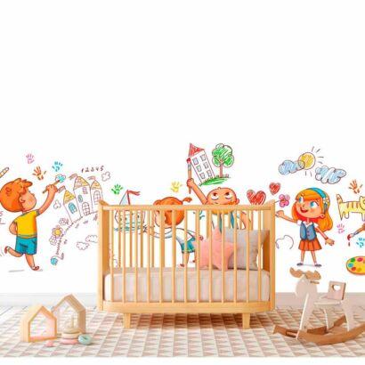 Papel Pintado Guardería Infantil