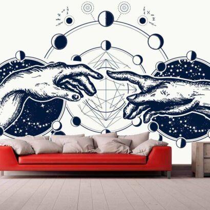Papel Pintado Manos Astrales
