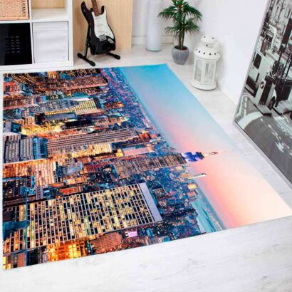 Alfombra PVC Nueva York Skyline