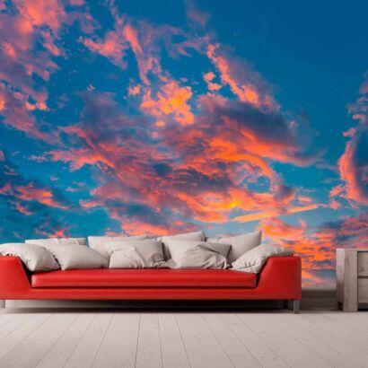 Papel Pintado Nubes Atardecer