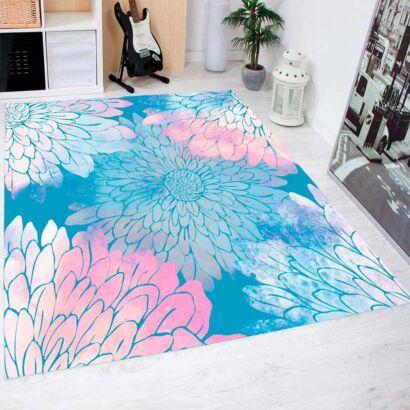 Alfombra PVC Gran Estampado Floral