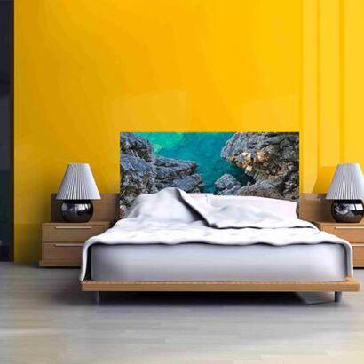 Cabecero Cama Rocas Mar