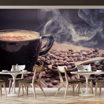 Fotomural Taza Café Negra