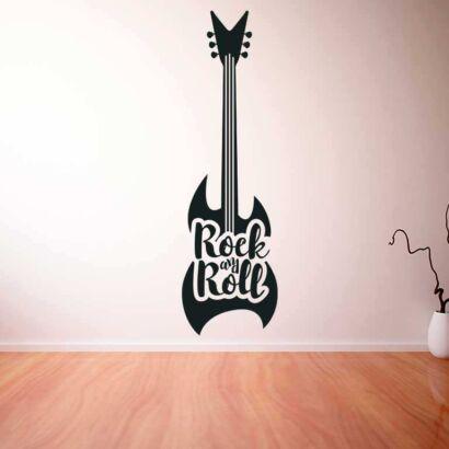 Vinilo Decorativo Guitarra Electrica