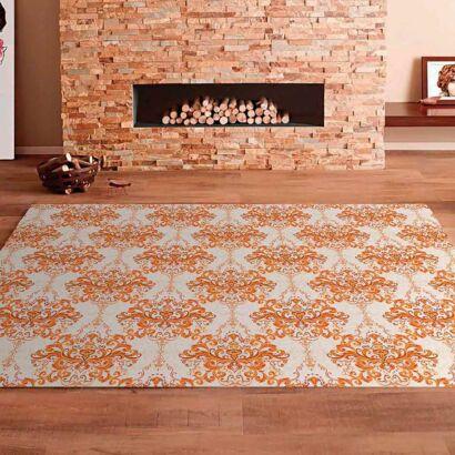 Alfombra PVC Mosaico Elemental Naranja