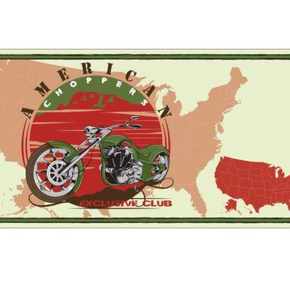 Matrícula Decorativa Moto Choopers
