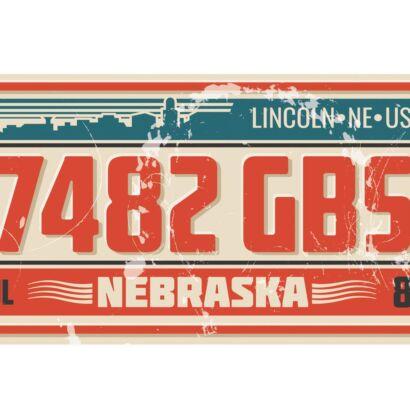 Matrícula Decorativa Nebraska