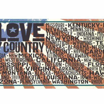 Matrícula Love My Country
