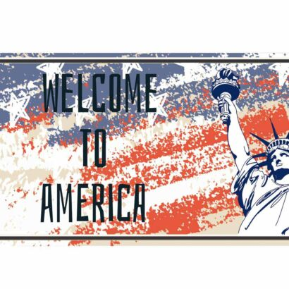 Matrícula Welcome to America