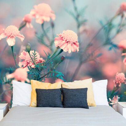 Papel Pintado Flores Rosas