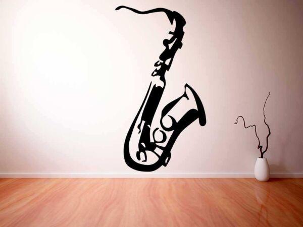Vinilo Decorativo Saxofón