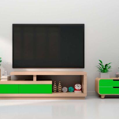 Vinilo Decorativo Mueble Verde