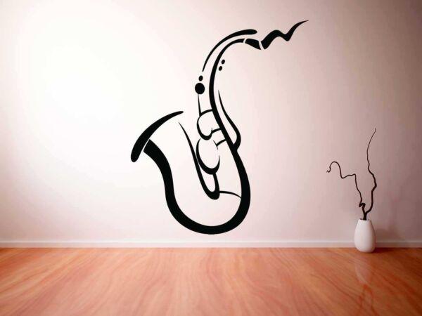 Vinilo Decorativo Saxo Simple