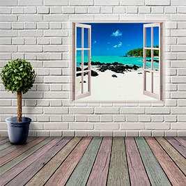 Vinilos estilo ventana