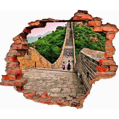 Vinilo 3D Muralla China
