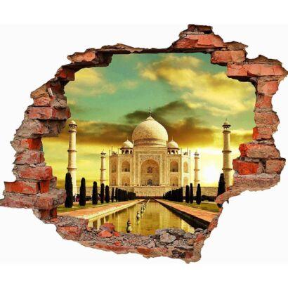 Vinilo 3D Palacio Taj Mahal