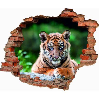Vinilo 3D Tigre de Bengala