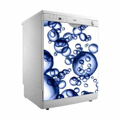 Vinilo para Lavavajillas Burbujas de Agua