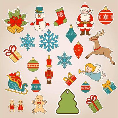 Accesorios Decoración de Navidad