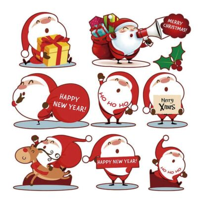 Accesorios Navidad Papá Noel