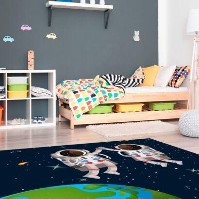 alfombra-astronautas-en-el-espacio-montaje