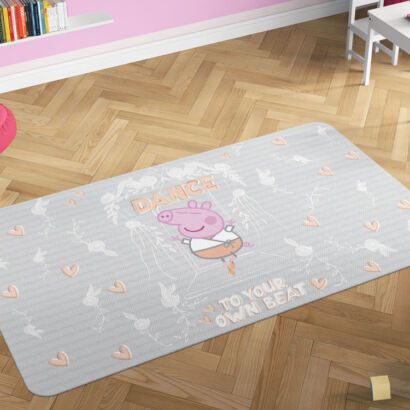 Alfombra infantil Peppa Pig Dance to your own