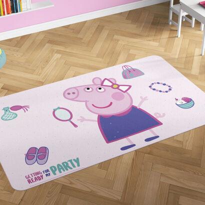 Alfombra PVC Peppa Pig Fiesta montaje
